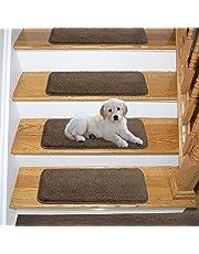 Ottomanson Comfort Collectin Soft Solid (Non-Slip) Carpet Stair Treads