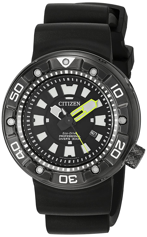 Citizen Men s BN0175-19E Promaster Diver Analog Display Japanese Quartz Black Watch