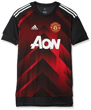 08b66fced adidas Men's Manchester United FC H Preshi T-Shirt, Red, 2X-Large ...