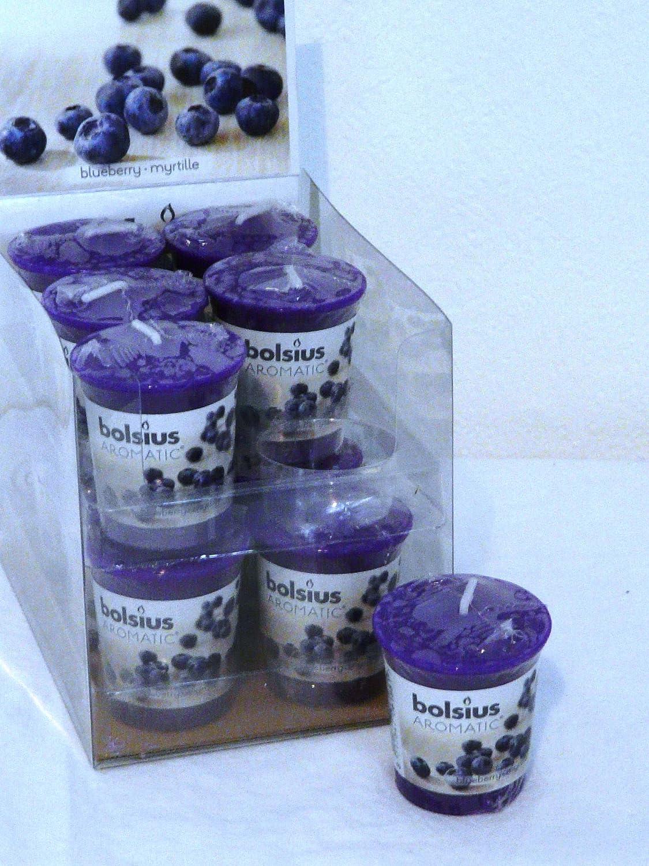Bolsius Duftkerze Aromatic im Glas Bolsius Blaubeere