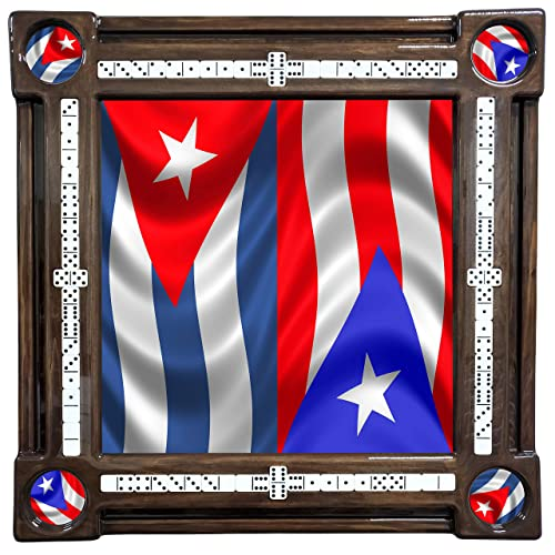 Puerto Rico /& Cuba Domino Table