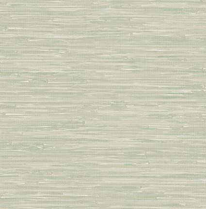 Bhf Fd22266 Ami Natalie Green Grasscloth Wallpaper Sage