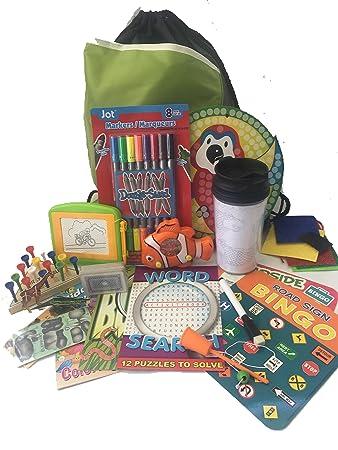 Travel Activity Bag Kit For Kids
