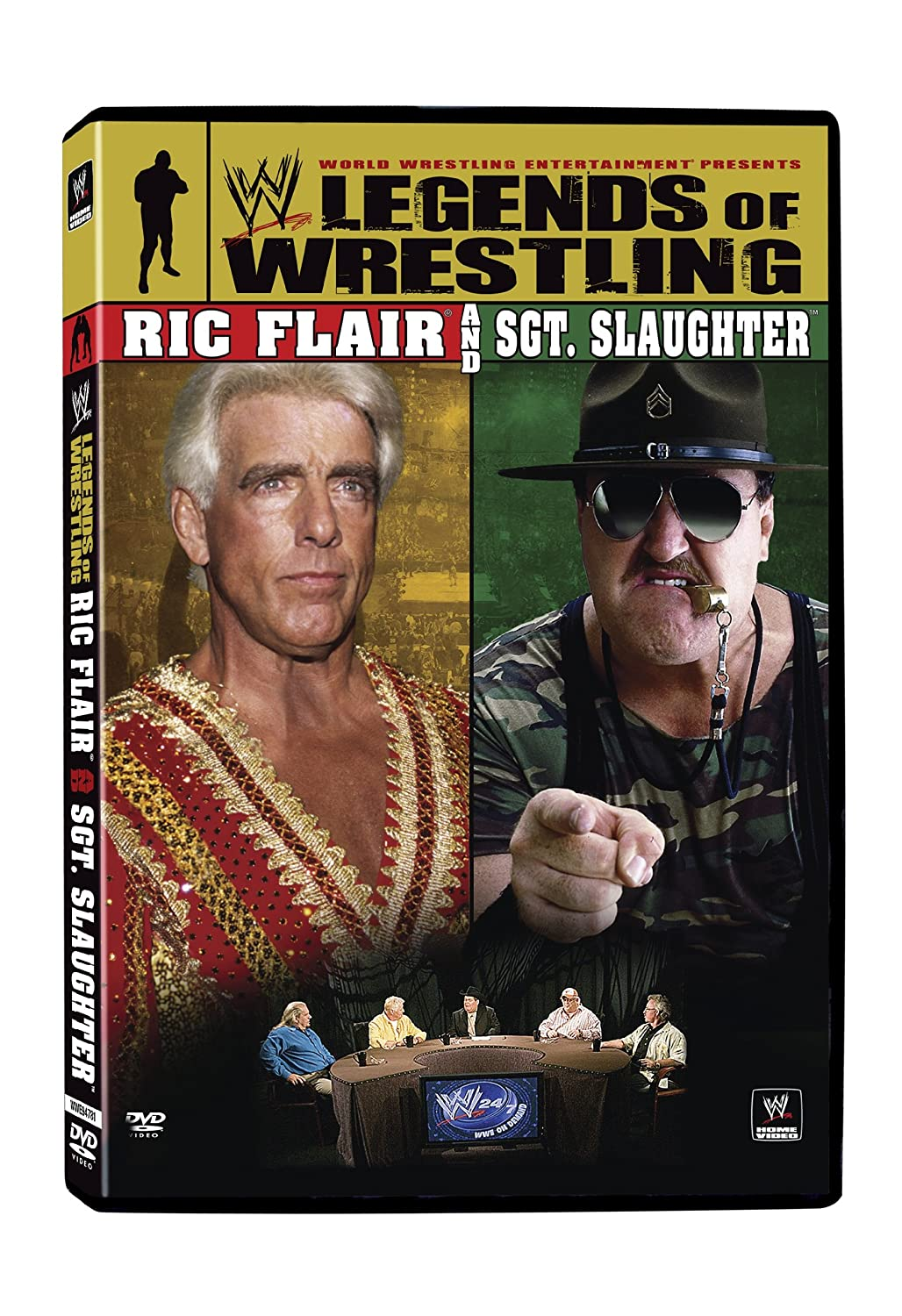 WWE Legends of Wrestling 5: Ric Flair & Sgt Slaughter