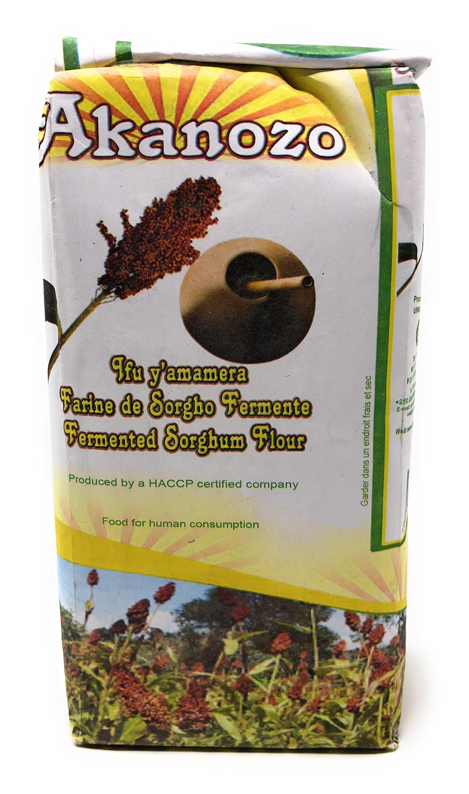 Akanozo''Fermented Sorghum Flour'' (Ifu y'Amamera) 2.2 lbs or 1 kg
