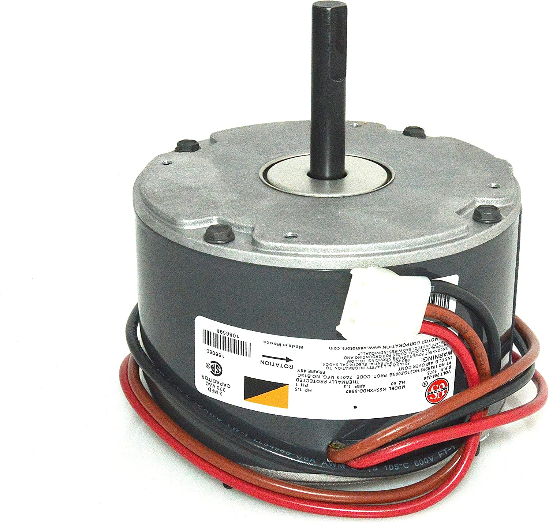 GE Emerson Fan Motor 1/5 HP 208-230 Volt K55HXHDD-8562