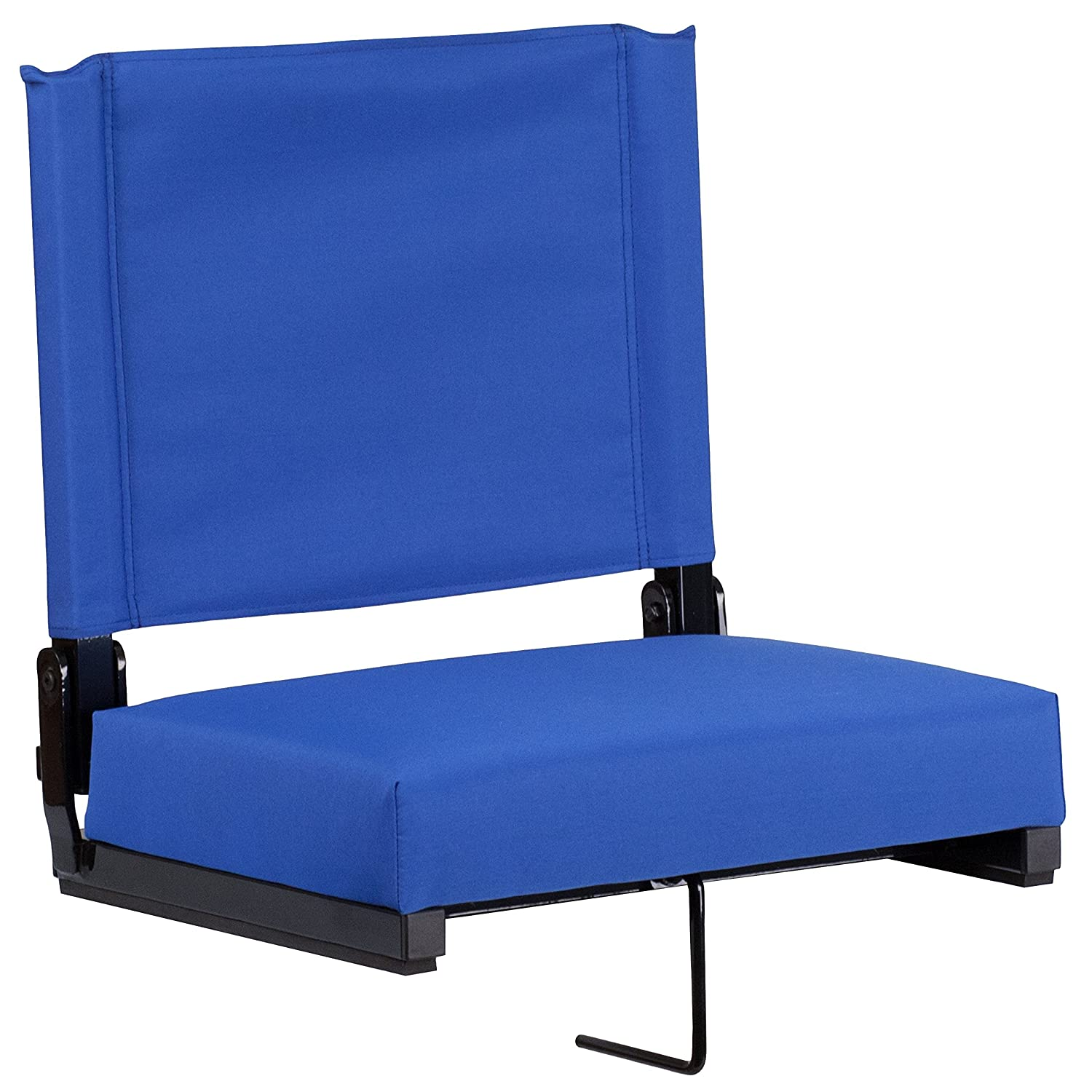 Amazon.com: Flash Furniture Grandstand Comfort Seats By Flash With  Ultra Padded Seat In Blue: Kitchen U0026 Dining