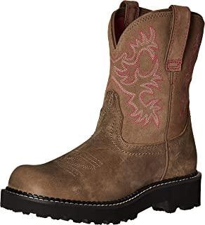 Amazon.com | Ariat Women&39s Fatbaby Western Cowboy Boot | Mid-Calf