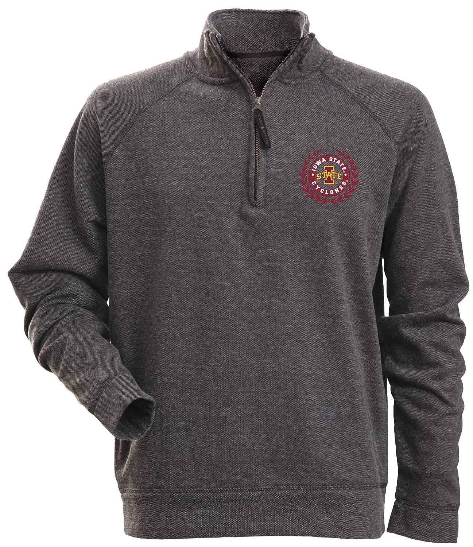 31fb33119d6 Camp David NCAA Men's Rockhill Textured Heather 1/4 Zip Fleece Pullover 7072
