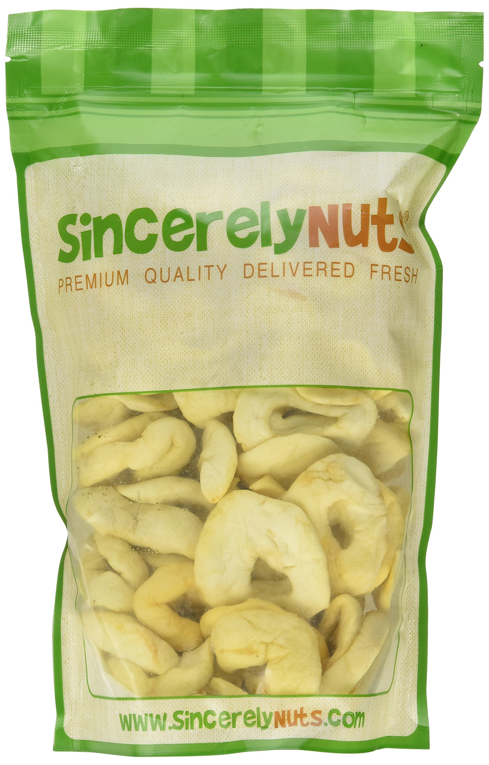 Dried Apples (1 Pound Bag) - No Sugar added by Superior Nut Company