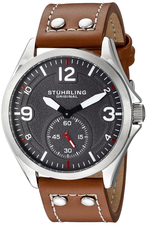 Original Tuskegee Stuhrling para Hombre Reloj Infantil de