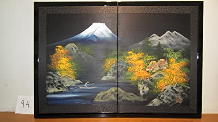 CJC Amazing Japanese Byobu Art