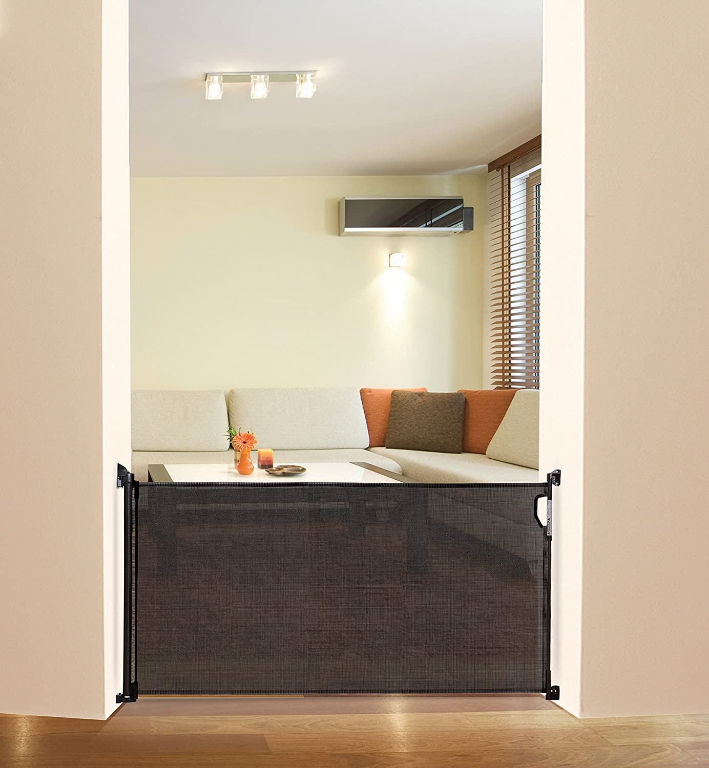 Image result for Dreambaby Retractable Gate With Spacers amazon