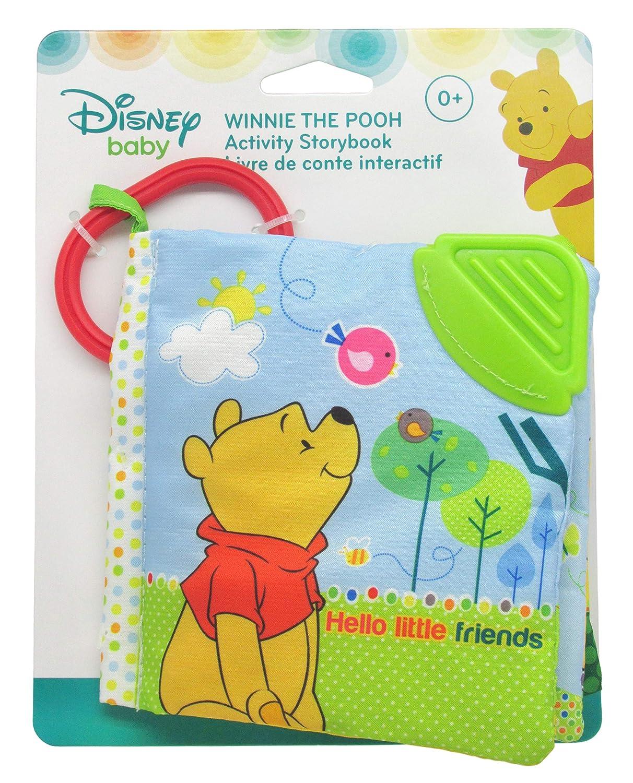 Disney Baby Hello Little Friends Winnie The Pooh Soft Book