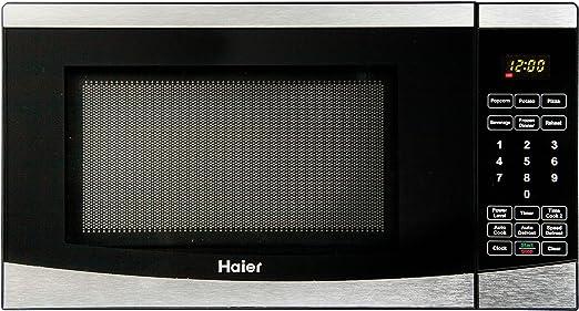 Haier 0.7 Cu. Ft. 700W 19.82L 700W Acero inoxidable - Microondas ...