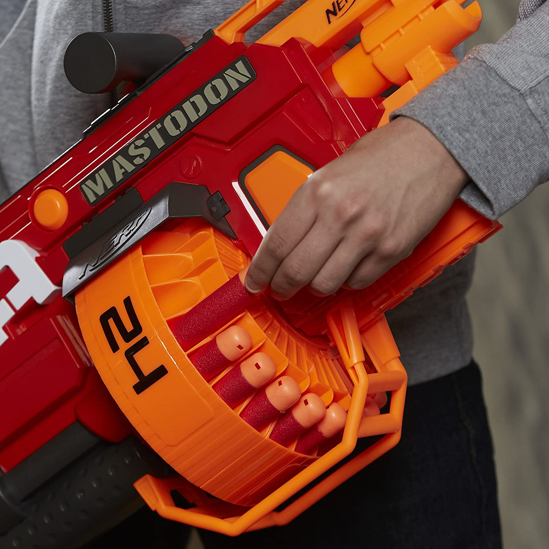 Amazon NERF N Strike Mega Mastodon Blaster Dispatched From UK Toys & Games