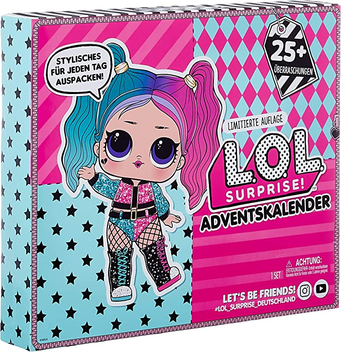 Amazon.com: L.O.L. Surprise! #OOTD Outfit of The Day with Limited Edition Doll and 25+ Surprises: Toys & Games