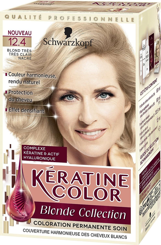 kratine color coloration permanente 124 blond trs clair nacr 60 ml - Coloration Permanente