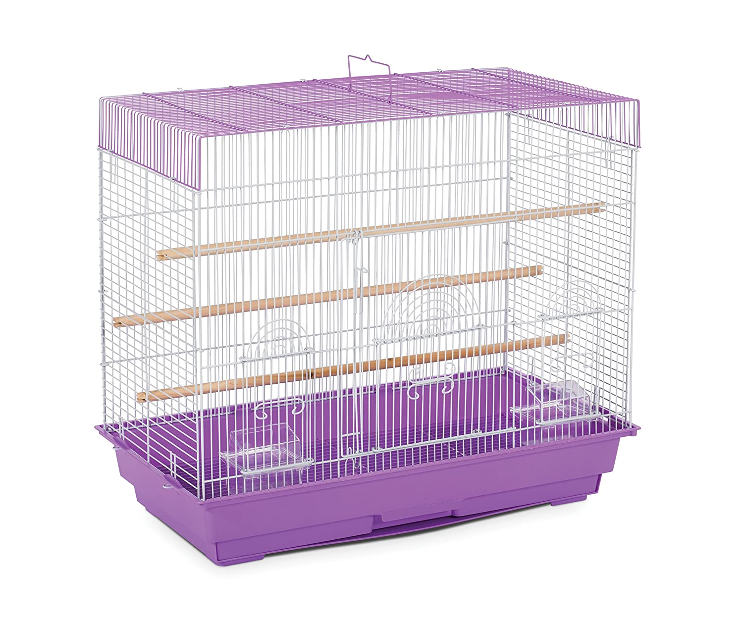 Prevue Pet Products SP1804-3 Flight Cage Lilac and White
