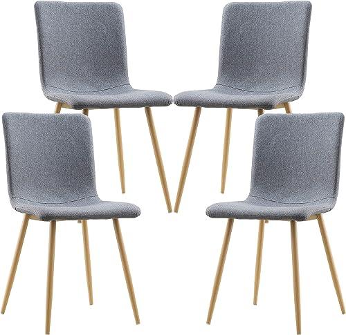 EdgeMod EM-286-GRY-X4 Dining Chair