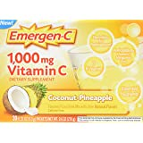 Alacer Emergen-C, Coconut/Pineapple, 30 Count