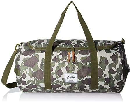 8790360f0289 Image Unavailable. Image not available for. Colour  Herschel Supply Co.Sutton  Duffle in Frog Camo