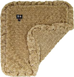product image for Bessie and Barnie Camel Rose Luxury Ultra Plush Faux Fur Pet, Dog, Cat, Puppy Super Soft Reversible Blanket (Multiple Sizes)