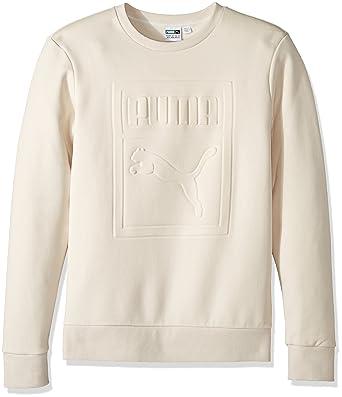 c56803aa92f PUMA Men's Archive Embossed Logo Crewneck Sweatshirt at Amazon Men's  Clothing store: