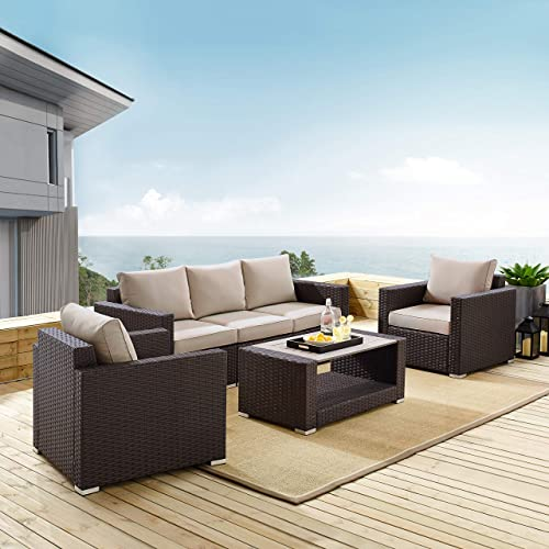 Pulaski Modern Weave Set Outdoor Furniture