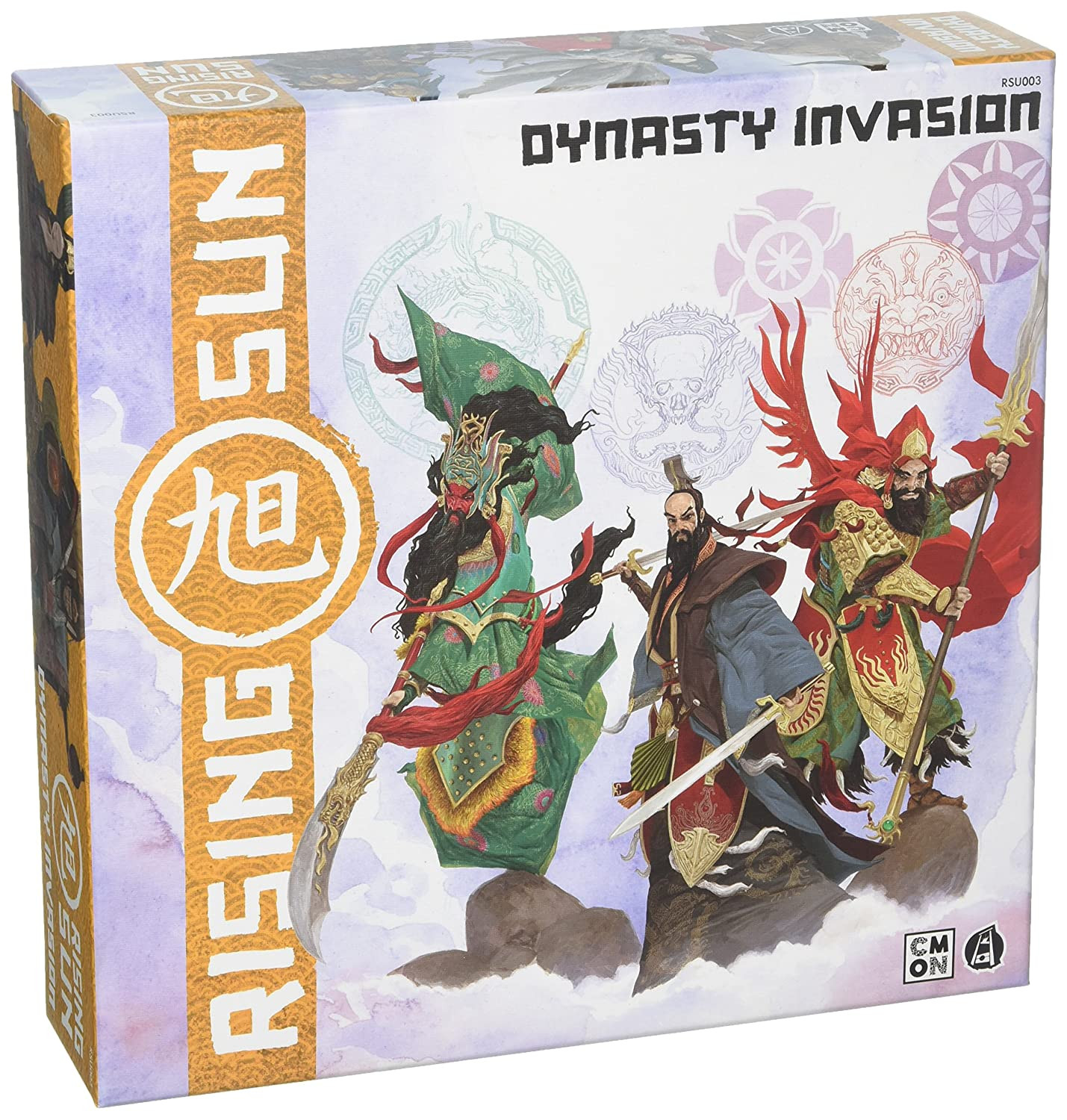Rising Sun Dynasty Invasion Expansion Cool Mini or Not RSU003
