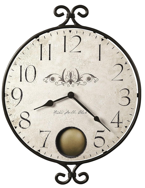 Amazon howard miller 625 350 randall wall clock home kitchen amipublicfo Gallery