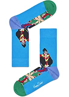 Happy Socks - Colorful Limited Edition The Beatles Cotton Socks for Men and Women