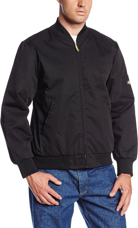 Dickies Men/'s Black Lined Team jacket JTC2