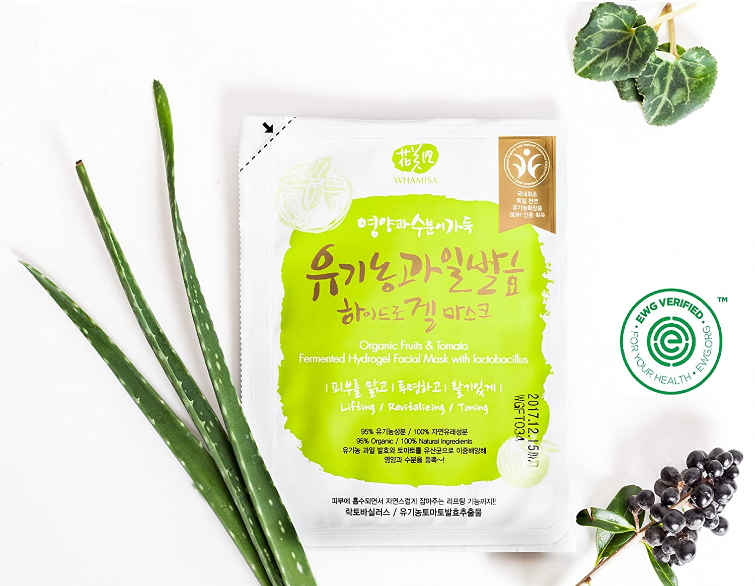 Organic Fruits Hydrogel Mask by Whamisa #21