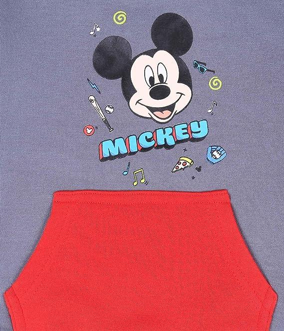Chándal Gris y Rojo Mickey Mouse Disney: Amazon.es: Ropa y accesorios