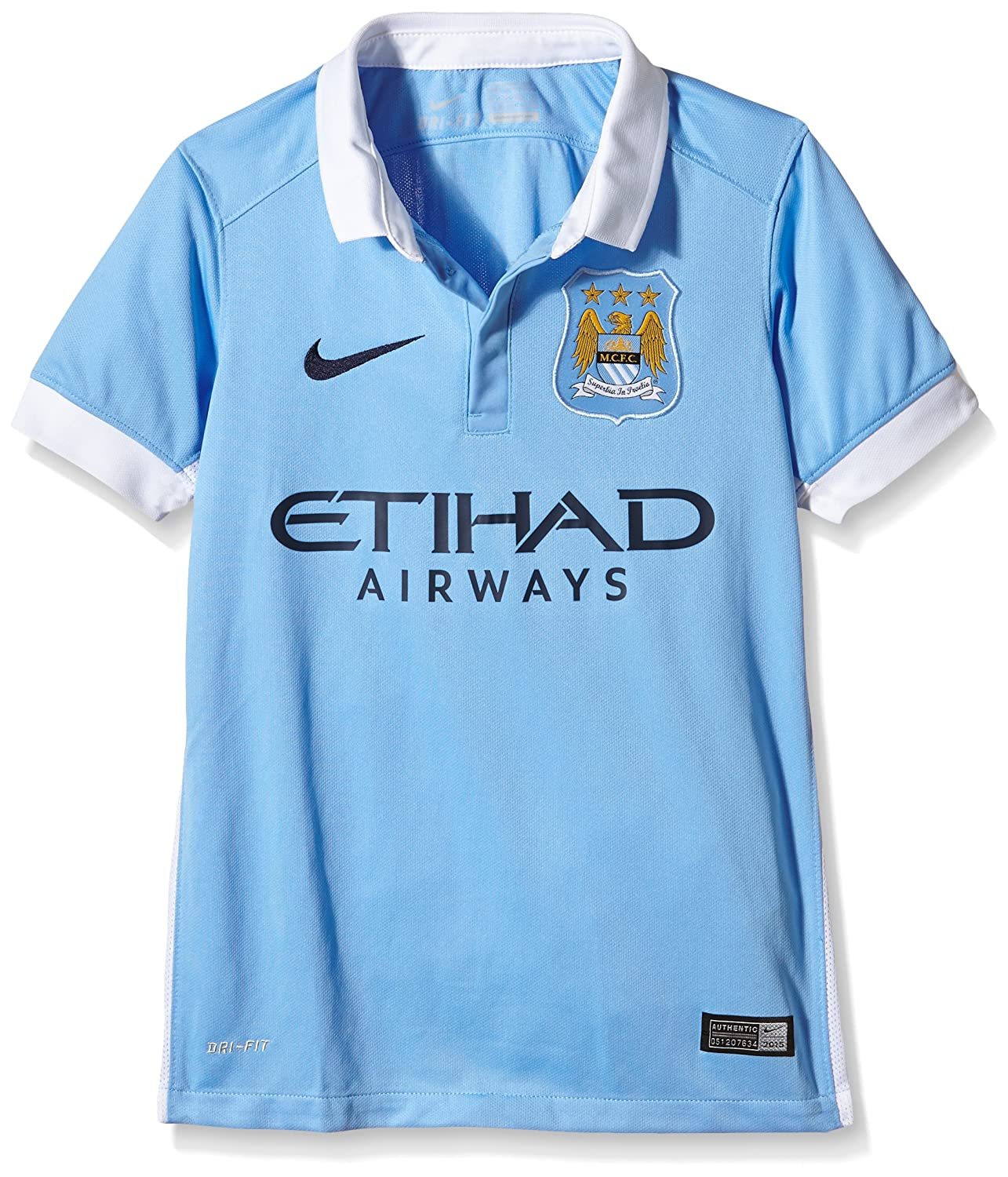 Nike Boys Manchester City Home Stadium Jersey [FIELD BLUE]