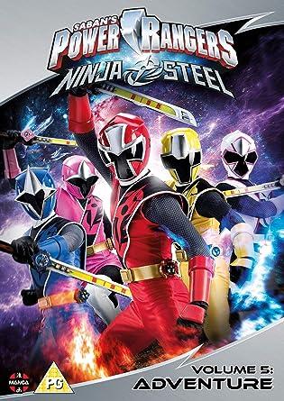 Amazon.com: Power Rangers Ninja Steel: Adventure (Volume 5 ...