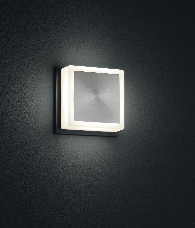 Trio Leuchten LED Nachtlicht Fix in nickel, Stecker-Spot, Acryl weiß ...