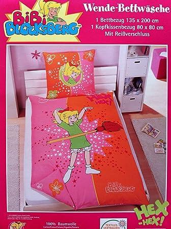 Bibi Blocksberg Wende Bettwäsche 1 X Kopfkissenbezug 80 X 80 Cm Und