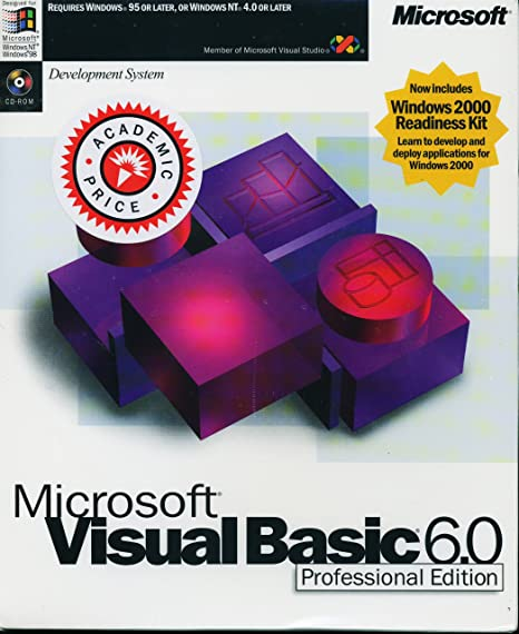 Microsoft Visual Basic 6 0 Professional Edition