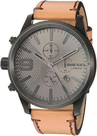 8915021f1a86 Buy DieseI Analog Grey Dial Men s Watch-DZ4468 Online at Low Prices in India  - Amazon.in