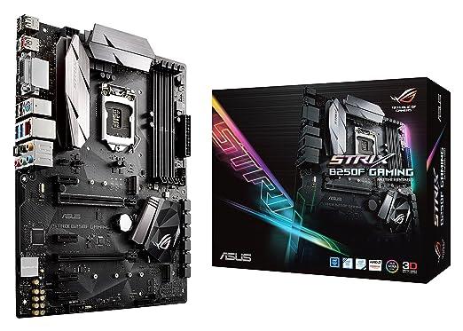3 opinioni per ASUS ROG STRIX B250F GAMING Scheda Madre, Socket 1151 ATX, Aura Sync, Dual M.2,