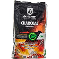 Josper - QBE White Quebracho Wood Charcoal - Premium bultos - Bolsa de 9,5 kg (20 libras)