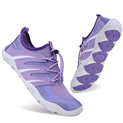 BAGGII Mens Womens Water Shoes Quick Dry Barefoot Aqua Shoes Beach Sports Shoes for Boating Surfing Swimming Yoga   Water Shoes