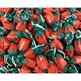 LaetaFood Pack, Arcor Strawberry Filled Hard Candy Bon Bons (One Pound Bag)