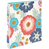 "Avery Durable View Binder with 1"" Round Rings, Floral (26800)"
