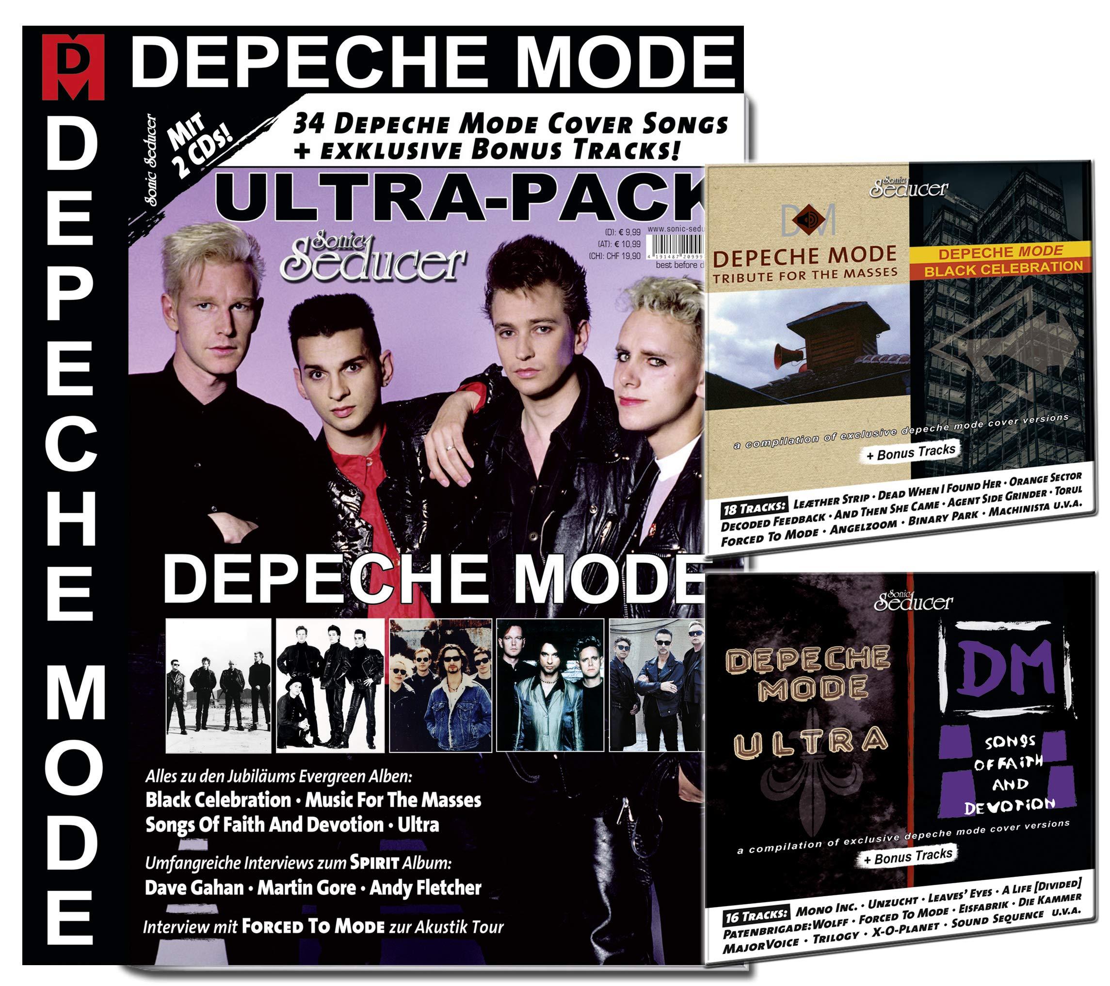 Sonic Seducer Depeche Mode Ultra-Pack: Amazon.es: Sonic Seducer: Libros en idiomas extranjeros