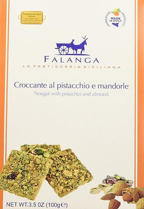 12 opinioni per Falanga Croccante con Mandorle di Sicilia e Pistacchio- 100 gr