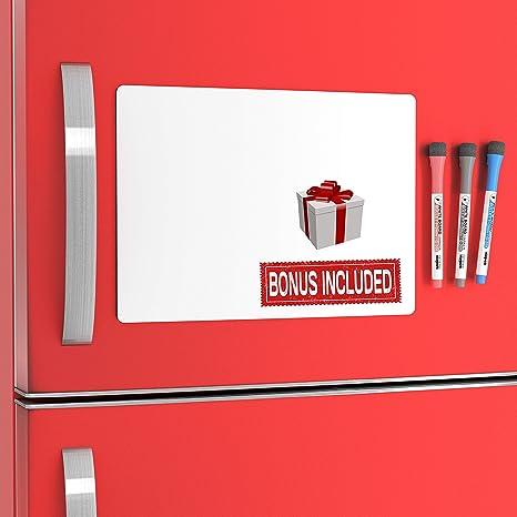2 Kitchen Fridge Magnets Dinner Menu Board For Kitchen And Refrigerator Message Board Magnetic Whiteboard For Refrigerator Set Of 2 Fridge