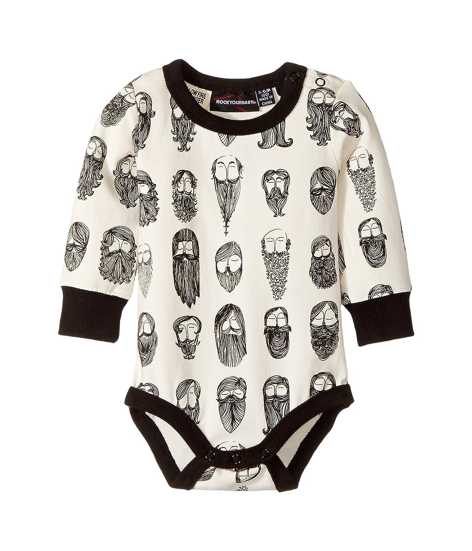 【返品不可】 [ロックユアベイビー] Rock Your Baby Baby メンズ B075HSB3Z1 Billyburg ワンピース Long Sleeve Bodysuit (Infant) ワンピース [並行輸入品] B075HSB3Z1 White/Black 3-6 Months (Infant), 御菓子処松月堂:e5232553 --- svecha37.ru